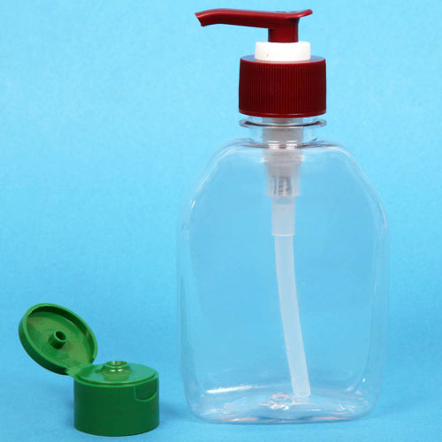 Hand Wash Bottle - Pet Apple Hand Wash Bottle and HDPE Flat