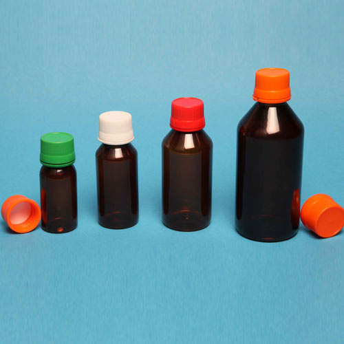 Round pharma Bottle (A)